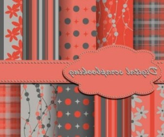 Vector Fabric Lines Patterns Background Vector Art