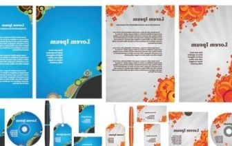 Vector Simple Template Business Vi Vector Art