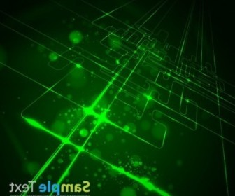 Vector Virtual Tecnology Background Vector Art
