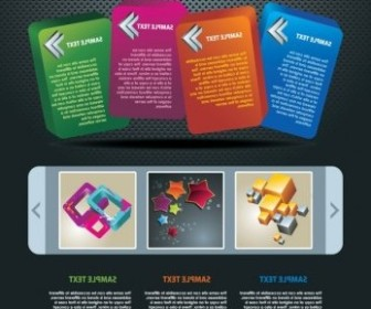 Vector The Trend Of Dynamic Website Templates 06 Web Design Vector Graphics