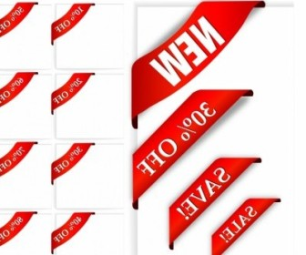 Vector New Sale Sign Web Design Vector Graphics