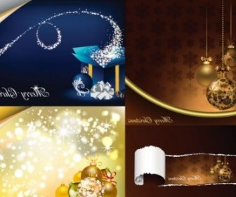Vector Gorgeous Element Christmas Vector Graphics