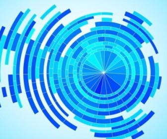 Vector Tech Blue Background Graphic Abstract Vector Graphics