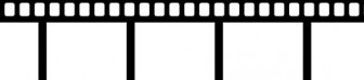 Vector Movie Tape Vector Clip Art