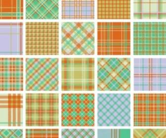 Vector Plaid Patterns 01 Pattern Vector Art
