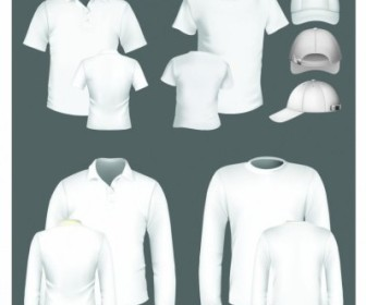 Vector Polo Shirt And Tshirt Design Template Vector Art