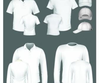 Vector Polo Shirt And Tshirt Design Template Vector Art
