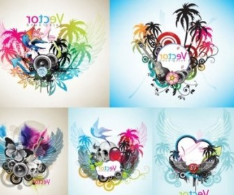 Vector Music Theme The Trend Vector Art