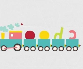 Vector Choo Train Vector Art
