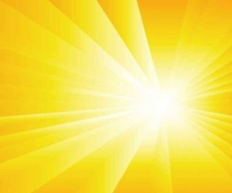 Vector Sun Burst Summer Background Vector Art