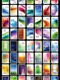 Vector Variety Of Symphony Card Background Vector Art