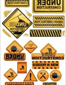 Vector Building And Construction Icons Icon Vector Graphics