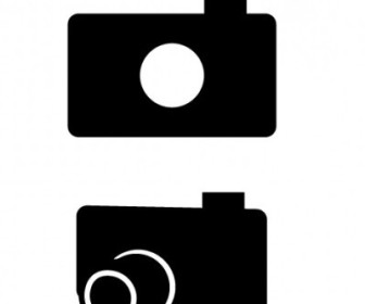 Vector Photograph Camera Icon Vector Graphics