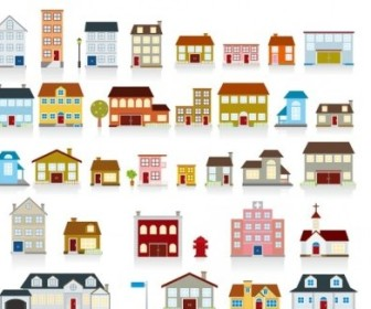 Vector Of Small House Vector Art