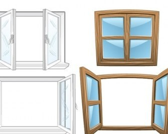 Vector Window Vector Art