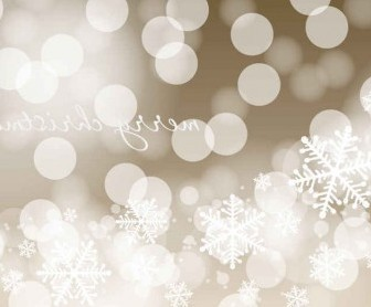 Vector Christmas Bokeh Background Vector Art
