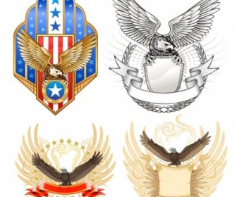 Vector Eagles Theme Vector Art