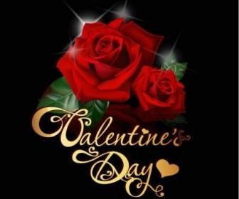 Vector Retro Valentine39s Day Greeting Card 05 Heart Vector Art