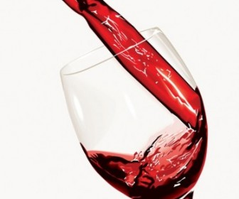 Vector Pour Wine Moment Vector Art