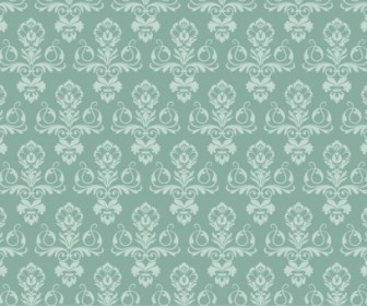 Vector Damask Wallpaper Pattern Vector Art