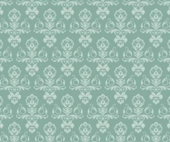Vector Damask Wallpaper Pattern Vector Art