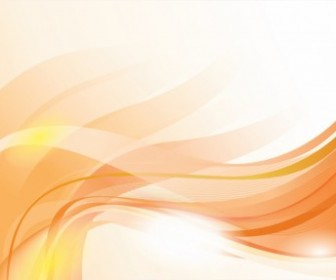 Vector Gold Wavy Composition Abstract Vector Graphics