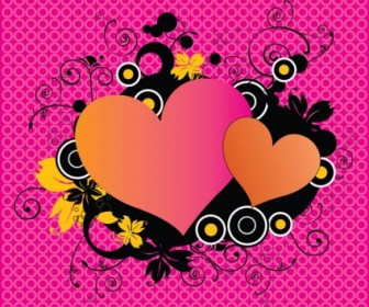 Vector Love Hearts Heart Vector Art