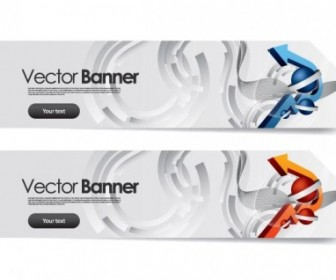 Vector Sense Of Science And Technology Background 2 Vector Banner