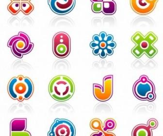 Vector Colorful Business Design Elements Vector Art