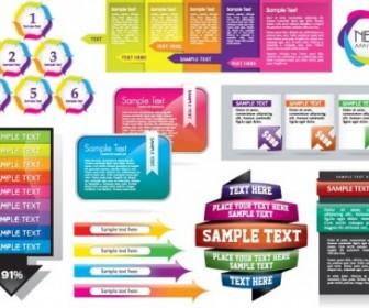 Vector Colorful Decorative Graphics 5 Vector Art