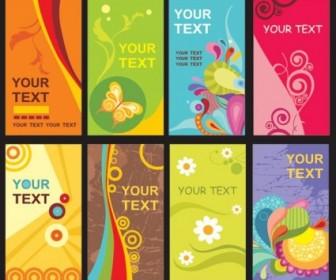 Vector Fun Card Template The Trend Vector Art