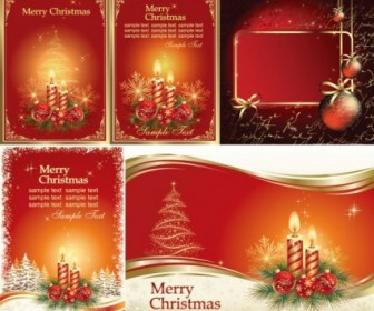 Vector Gorgeous Christmas Vector Graphics