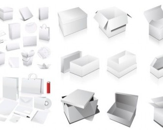Vector Elements Of The Blank Boxes Vi Vector Art