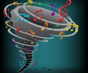 Vector Color Music Key Symbols 04 Vector Art