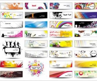 Vector Boutique Card 04 Vector Art