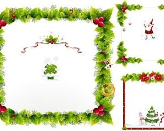 Vector Ornaments Christmas Vector Graphics
