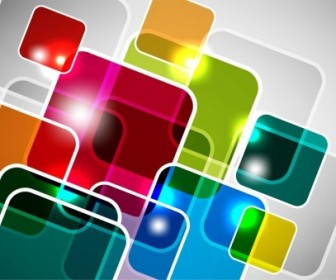 Vector Square Background Abstract Vector Graphics