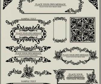 Vector European Patterns 03 Pattern Vector Art