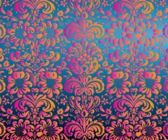 Vector Pattern Floral Vector Art