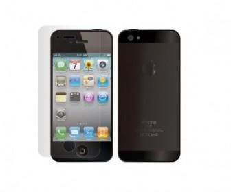 Vector Iphone5 Phone Vector Art