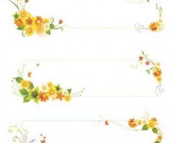Vector Flowers Banners Flower Vector Art