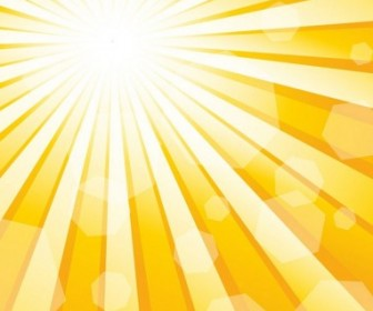 Vector Sun 1 Background Vector Art