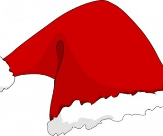 Vector Santa Hat Vector Clip Art