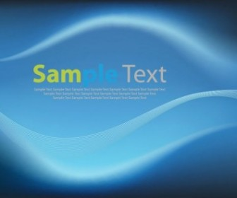 Vector Blue Wave Background Abstract Vector Graphics