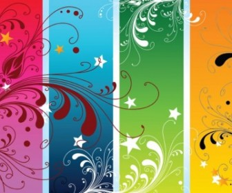 Vector Colorful Nature Vector Art