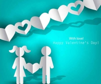 Vector Love Happy Valentine's Day Images Background Vector Art
