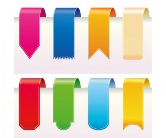 Vector Ribbons Web Design Vector Graphics