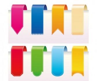 Vector Ribbons Web Design Vector Graphics
