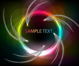 Vector Colorful Art Abstract Vector Graphics