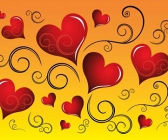 Vector Graphics Heart Vector Art